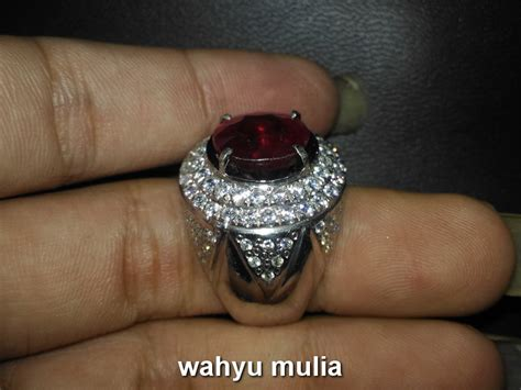 12 16 Ct Ruby Mirah Delima Memo batu permata mirah ruby asli kode 686 wahyu mulia