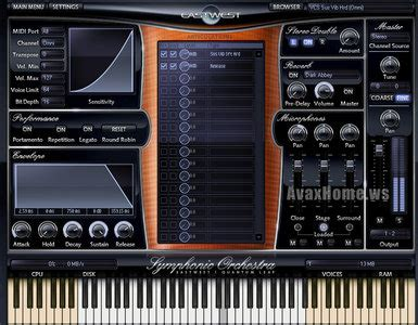 Vst The Orchestra east west quantum leap free orchestra play edition vst rtas standalone avaxhome