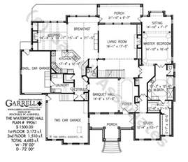 good classic farmhouse plans 3 waterford hall house plan 99061