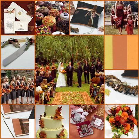 fall color schemes fall wedding colors fall autumn wedding invitations