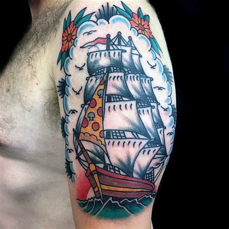 old ship tattoo designs traditional ship flash www pixshark images