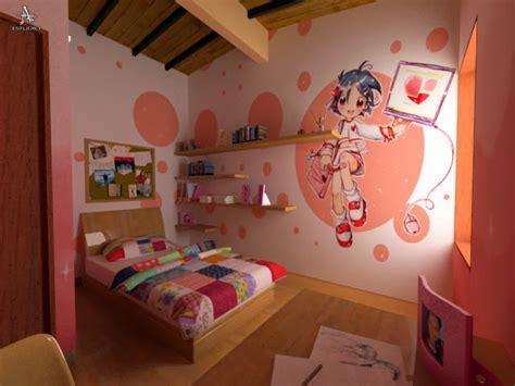 imagenes de habitaciones kawaii dormitorios tema anime dormitorios colores y estilos