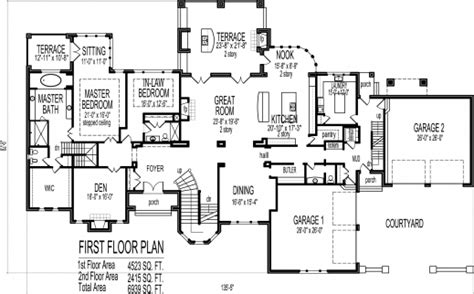 big house floor plans big house floor plans 2 story house floor plans