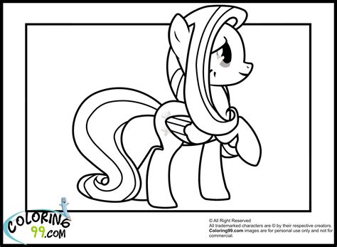 Mlp Princess Fluttershy Coloring Pages Coloring Pages Fluttershy Equestria Coloring Pages Printable