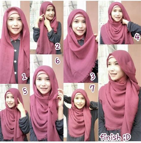 tutorial hijab pashmina ombre rawis 13 best images about tutorial hijab on pinterest eyewear