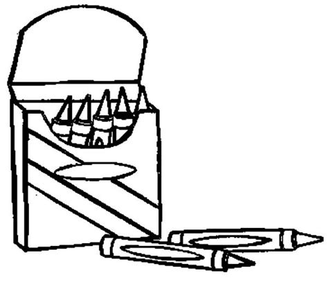 coloring pages with crayons online crayon box coloring page free download best crayon box
