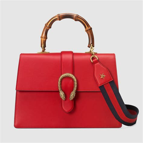 Gucci Dionsyus Bamboo Mini Bags 6345 gucci dionysus leather top handle bag in lyst