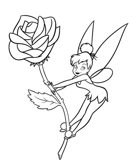 tinkerbell coloring pages tinkerbell coloring pages