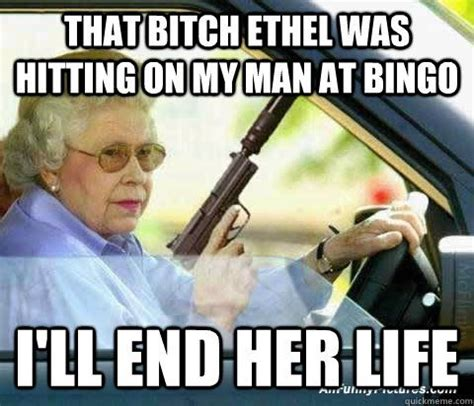 Funny Old Lady Memes - 78 best bingo funny pictures images on pinterest bingo