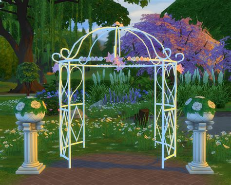 Wedding Arch Sims 4 Cc by 2 To 4 Princess Bliss Tie The Knot Gazebo As A Wedding
