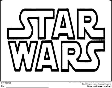 coloring pages star wars logo coloring pages from star wars empire strikes back coloring
