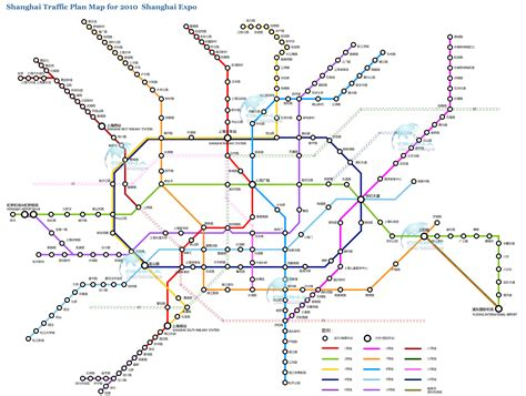 shanghai metro map detailed shanghai subway metro map in