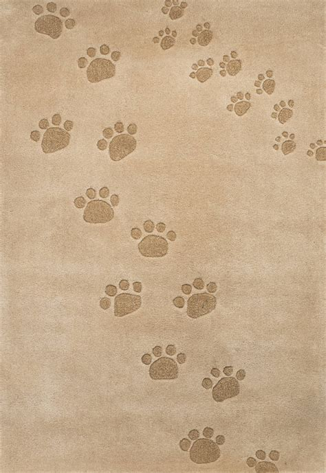 paw print rugs children s rugs paw prints by cotswold mat company notonthehighstreet