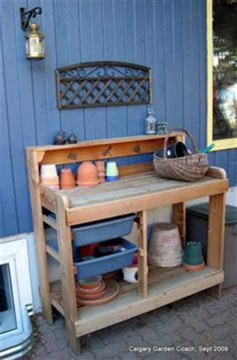 plastic potting bench 1000 images about potting bench project on pinterest