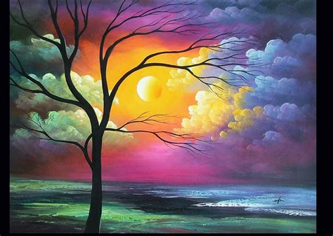 the gallery for gt beautiful paintings of landscapes