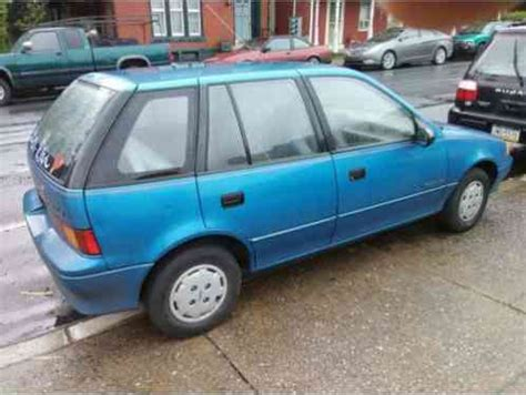 geo metro 1990, ok up for bids is a road kill type special