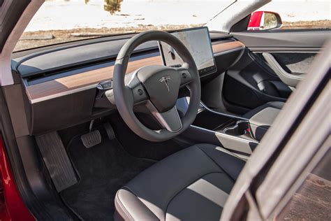 Tesla Model 3 Interior exclusive a closer look at the tesla model 3 s