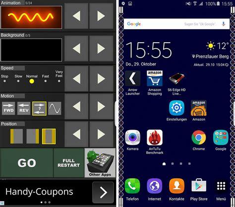live wallpaper for edge samsung galaxy s6 edge tipps tricks und spezial apps