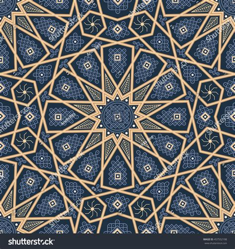 vintage pattern web islamic seamless oriental vintage pattern abstract stock
