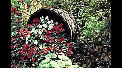 gartenecke bepflanzen kreative gartenidee blumen attraktiv pflanzen und