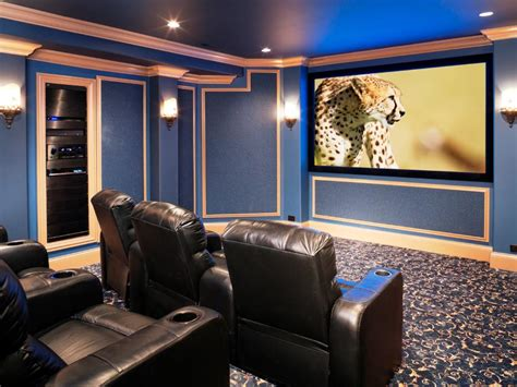 Theatre Room Decor Family Friendly Home Theaters From Diynetwork Diy