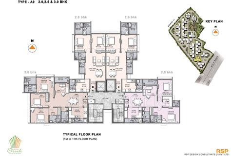 olympia floor plan 1284 sq ft 2 bhk 2t apartment for sale in olympia group
