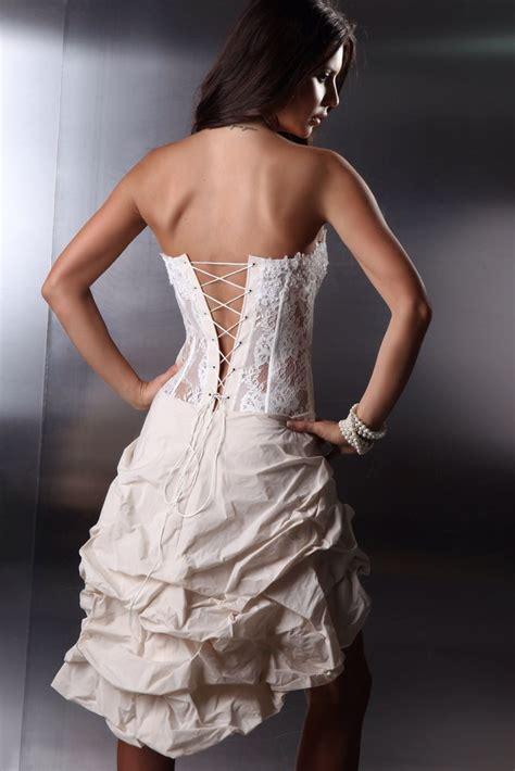 Brautkleider Vorne Mini Hinten Lang by Brautkleid Vorne Mini Hinten Lang Mini Brautkleid
