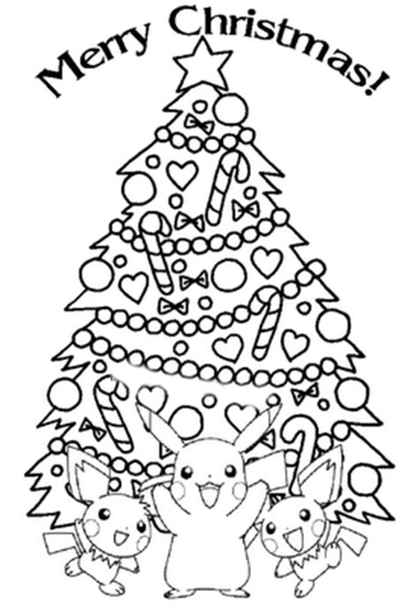 pokemon christmas coloring pages learn to coloring