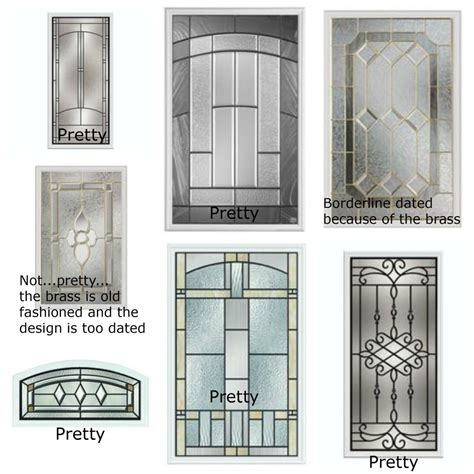 Glass Inserts Front Doors Update Home By Insert Glass Window In Front Door Different Styles