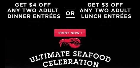 2015 red lobster coupons buy one get one free deals jan 2016 printable search results calendar 2015