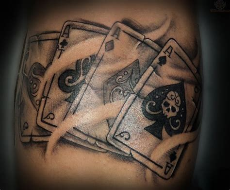 card tattoos 53 best tattoos images on tattoos