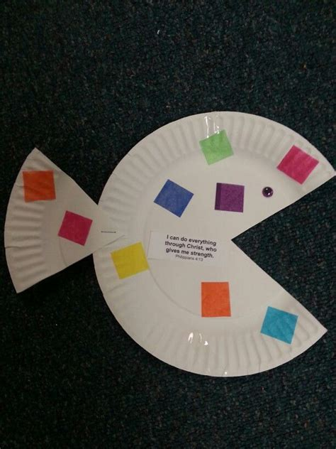 Paper Plate Bible Crafts - 17 best ideas about paper plate fish on paper