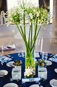 White Milk Glass Vase Navy Blue And White Wedding Table Decorations Wedding