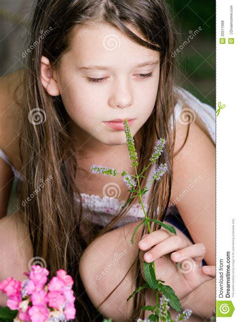 preteen paradise cute child girl royalty free stock photos image 20511968