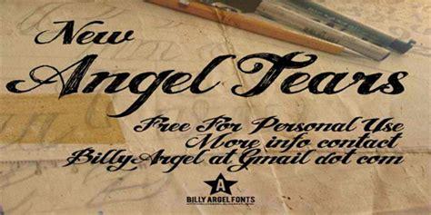 tattoo font angel tears 33 attractive and elegant fonts blueblots com