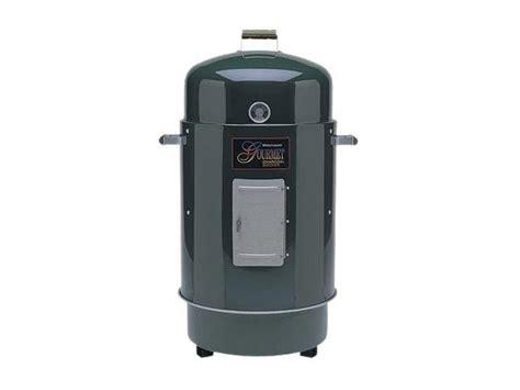 brinkmann gourmet charcoal smoker grill 852 7080 e green