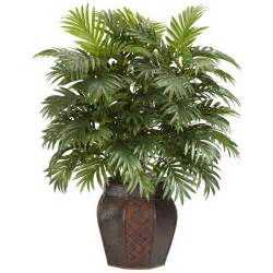 Decorative Plants For Home Silk 38 Inch Potted Areca Palm Plant Free Shipping Today