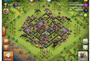 Clash of clans maps town hall 4 download clash of clans di komputer