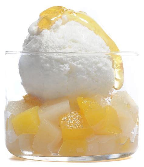 glace au yaourt fermier fudge au miel de lavande de