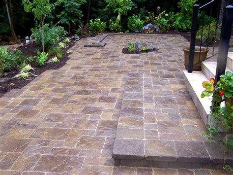 pictures of patios with pavers lewis landscape services inc beaverton or 97006 angie