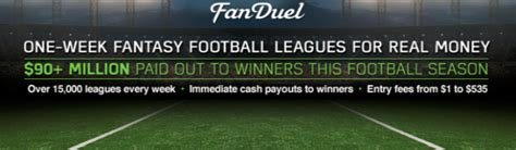 How To Win Money On Fanduel - fanduel com review leading fantasy sports betting