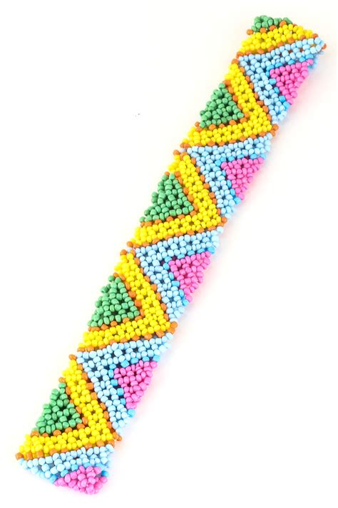 beaded headband patterns chevron pattern seed bead headband hair accessories