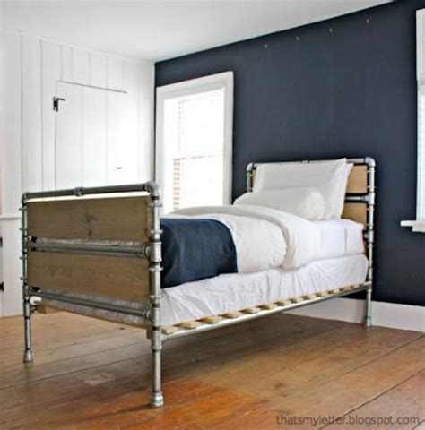 industrial beds make your own industrial beds to rev your bedroom the