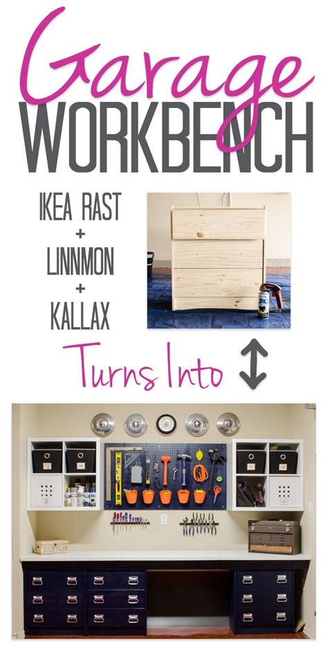 ikea garage organization best 25 diy workbench ideas on pinterest garage diy