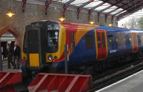 rail services  london complementing  london