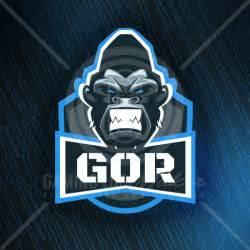 gaming logo template gorilla clan logo template gaming logo maker gaming