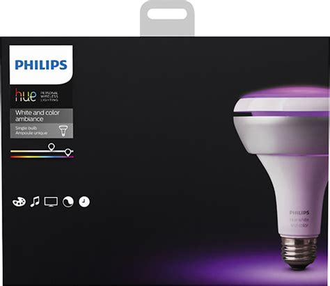 philips wifi light bulb best buy philips hue white and color ambiance br30 wifi
