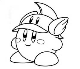 kirby coloring pages free printable kirby coloring pages for