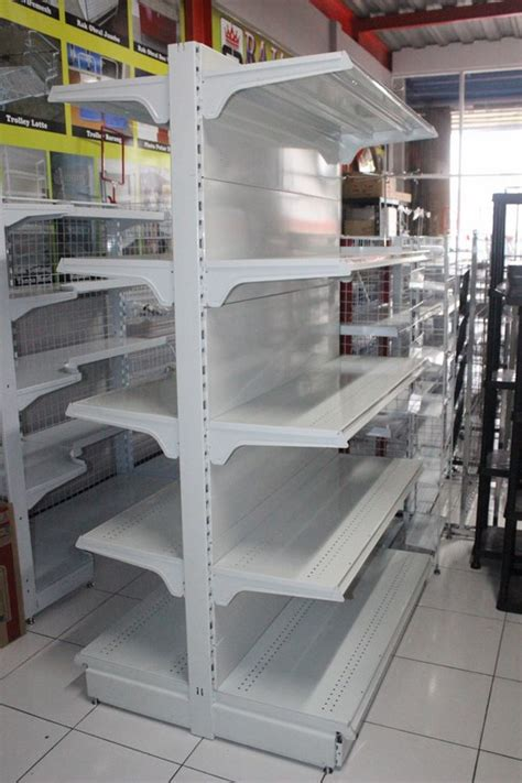 Rak Minimarket Bekas Di Palembang jual rak hypermarket tipe rr 19