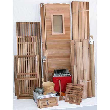 diy sauna kit 6 x8 sauna kit diy precut heater package